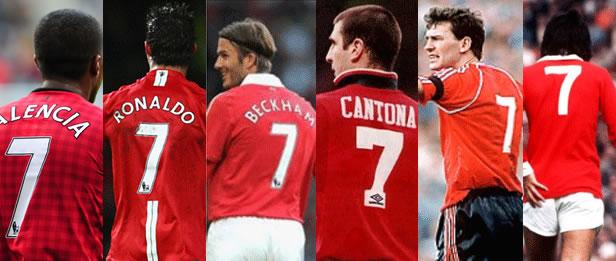 Para Pesepakbola Manchester United yang Memakai Nomor Punggung Tujuh