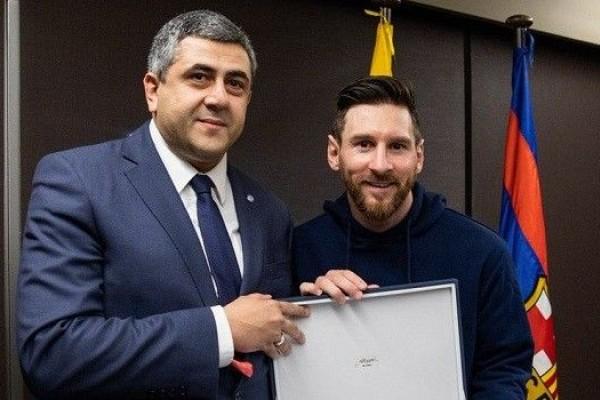 Messi di Tunjuk Menjadi Duta Pariwisata oleh PBB