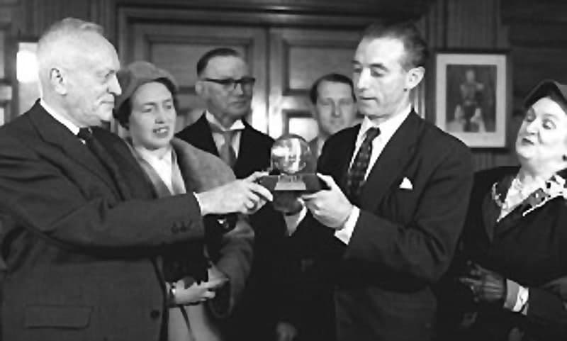 Pagelaran Ballon d'Or pada tahun 1956